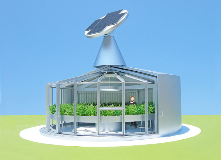 The Solar fish Eco House