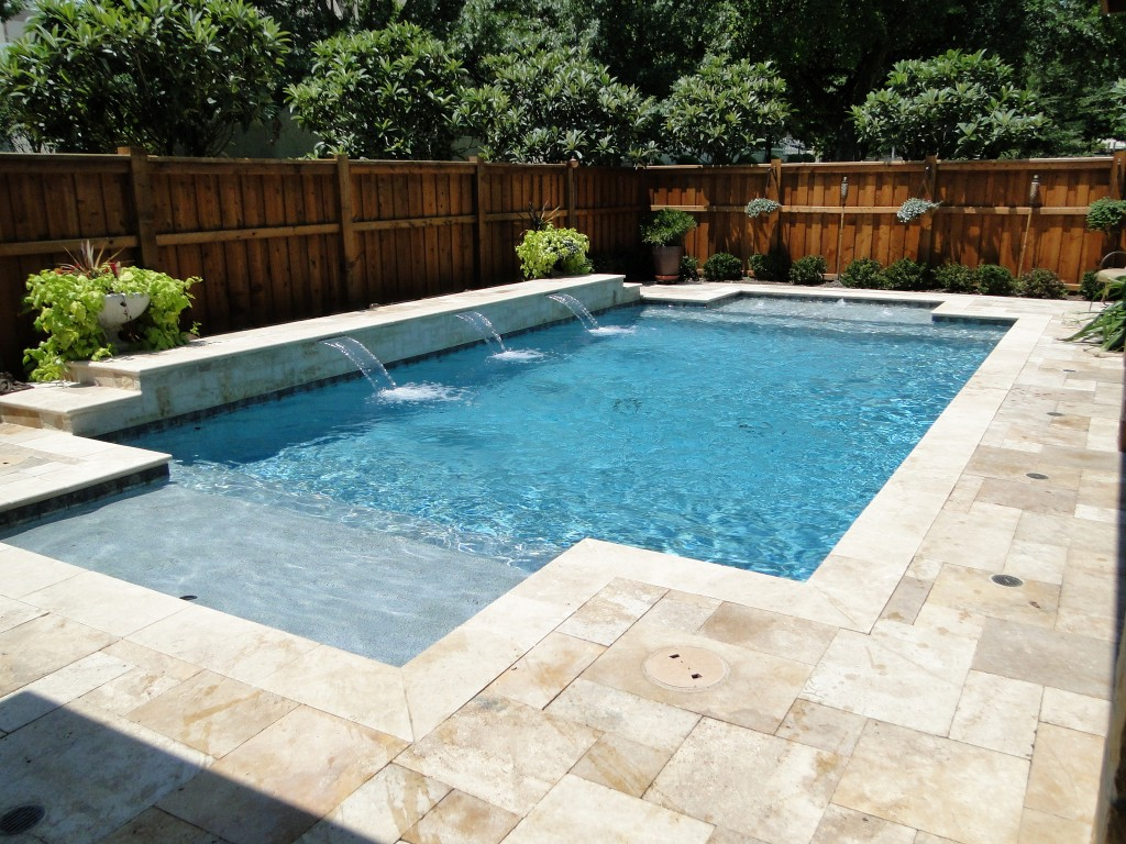 Travertine Pool Deck Images Design And Ideas