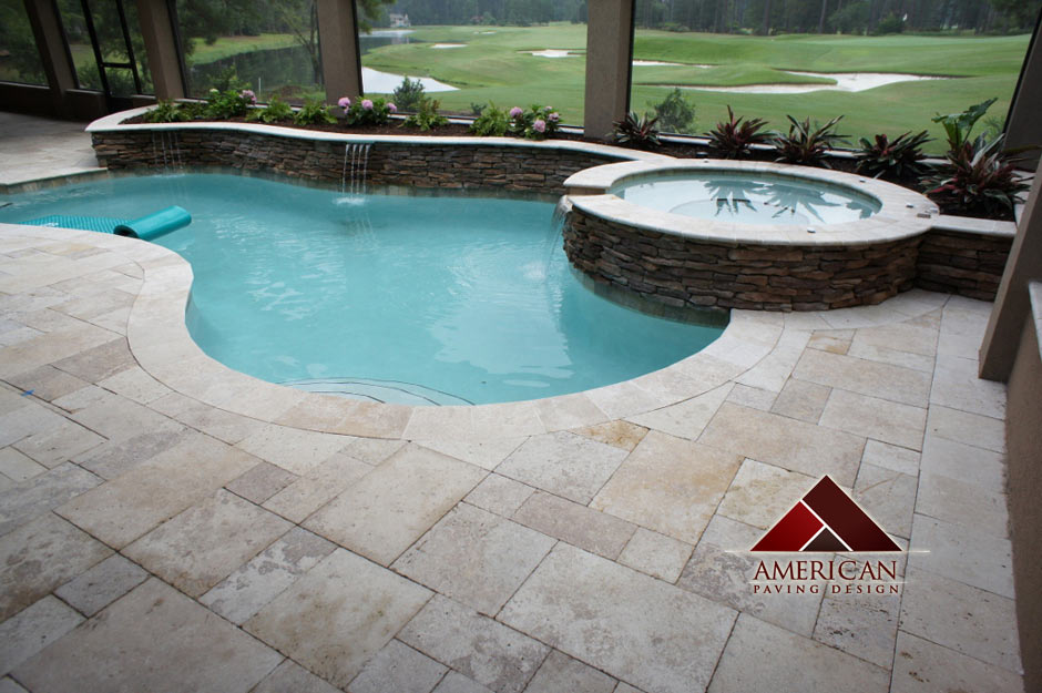 Travertine pool deck images 187 design and ideas