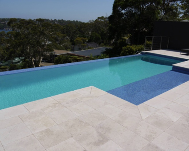 Travertine Tile Pool New Travertine Pool » Design And Ideas