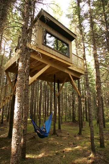 Treehouse cabins ar design and ideas for Tree house cabins arkansas