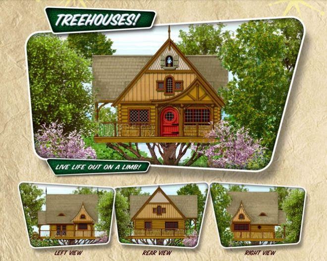 treehouse cabins branson