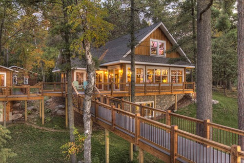 treehouse cabins in minnesota  photo - 2