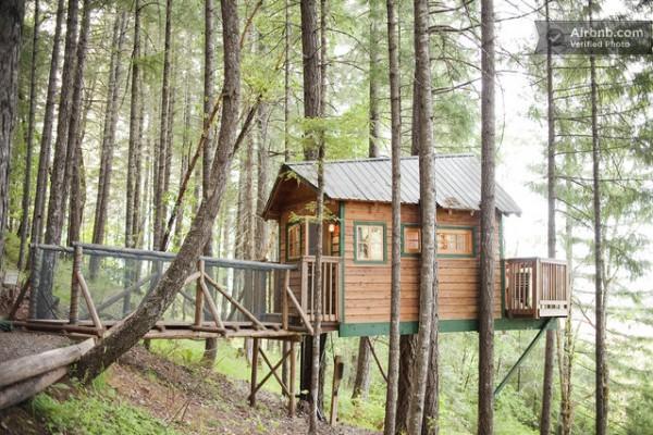 Treehouse Cabins Oregon
