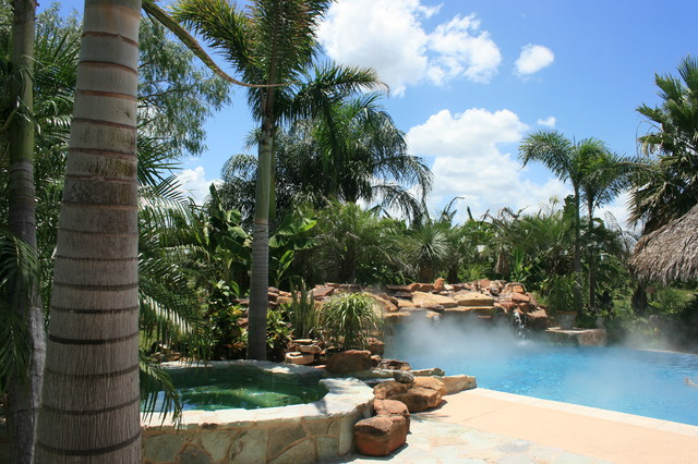 tropical landscaping texas