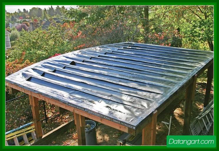 Deck Membrane Systems : Under deck drainage membrane design and ideas