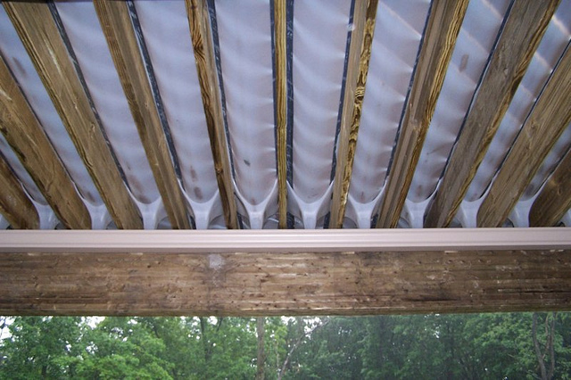 Under Deck Drainage System Tuftex 187 Design And Ideas