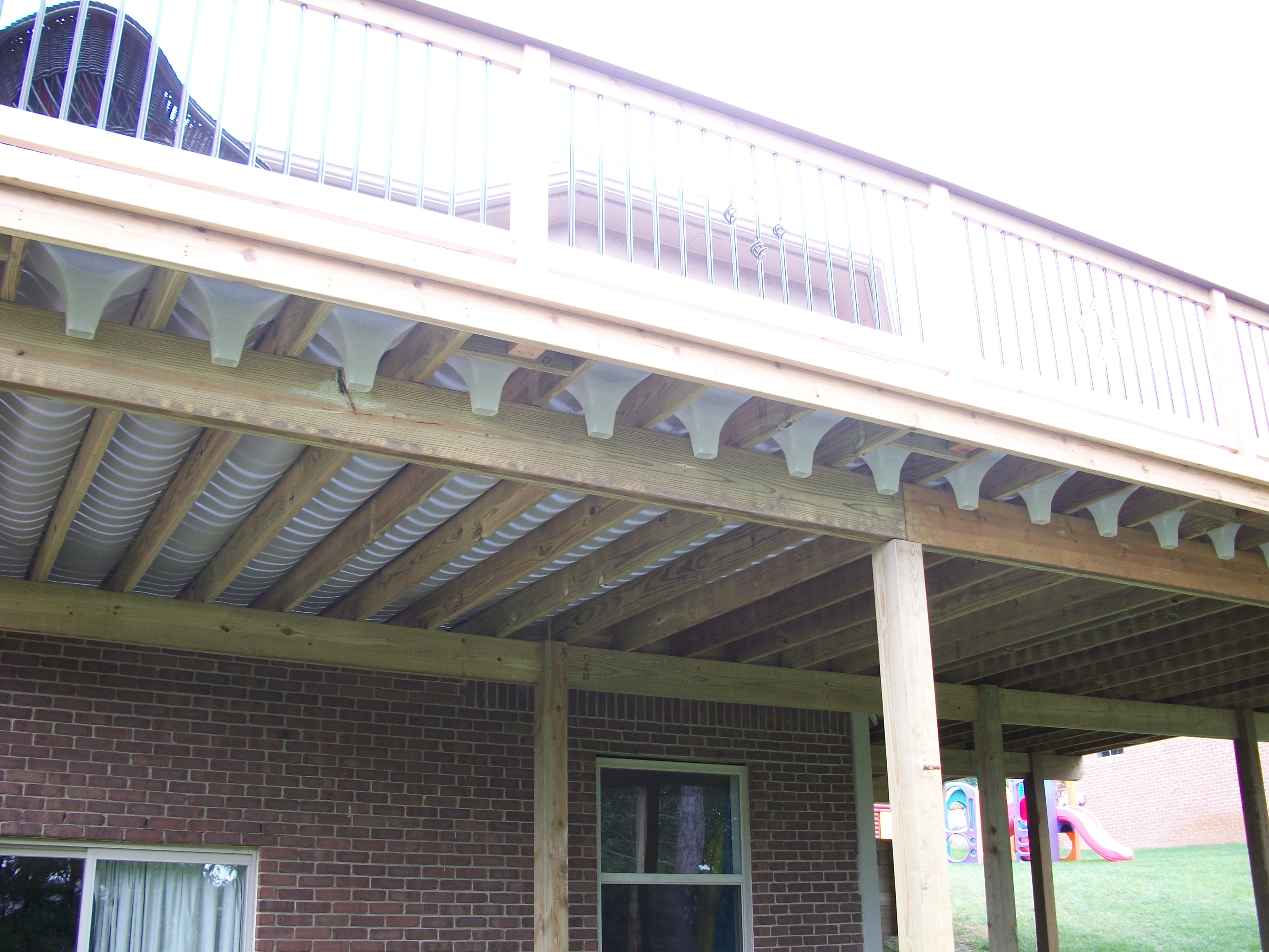 under deck roof system design and ideas