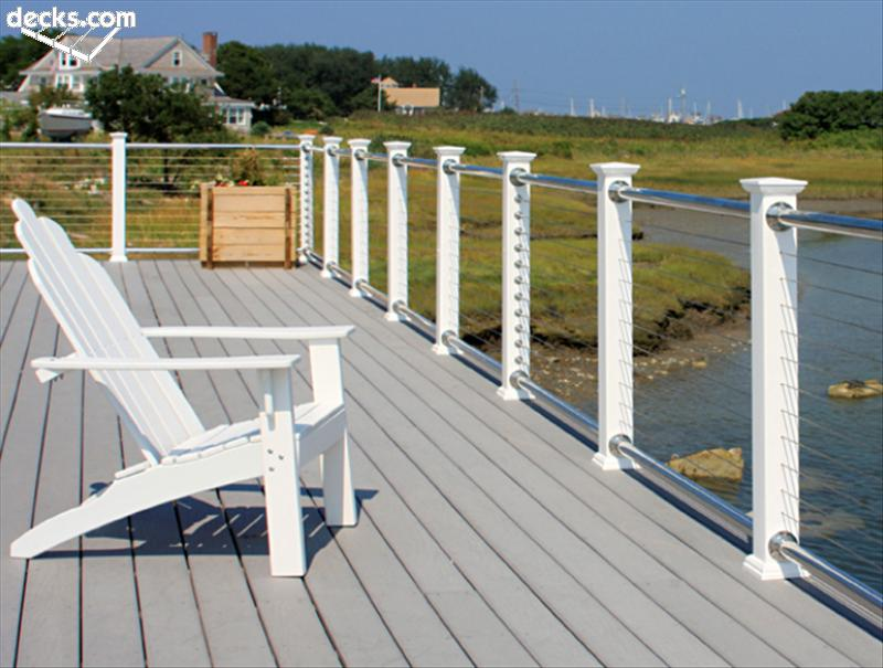 wire deck railing parts » Design and Ideas