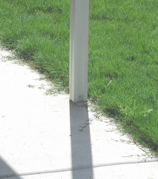 Aluminum Patio Awning Posts