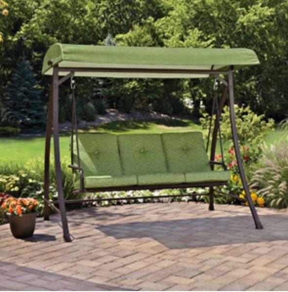 Backyard Swing Bench